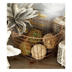 Springfield Metal Wire Baskets, Set of 3