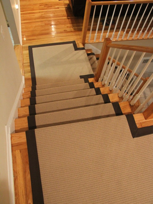 Example Of A Classic Home Design Design In New York. Save Photo. Custom  Stair Runners