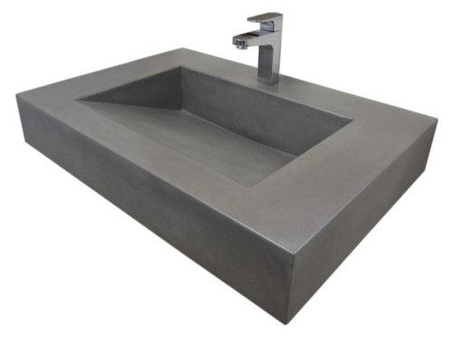 Slot drain concrete sink repair kit