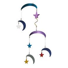 """Moon & Stars II"" Decorative Mobile"