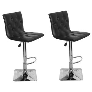 Fabulous Tolix Style Bar Stool High Back Chair Black Set Of 4 Gmtry Best Dining Table And Chair Ideas Images Gmtryco