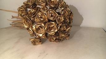 40 Rose Gold Bouquet