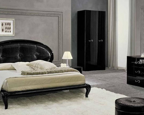 Made In Italy Leather High End Bedroom Sets With Extra Storage Bedroom Furniture Sets