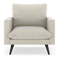 Rylie Armchair Satin Weave, Wheat