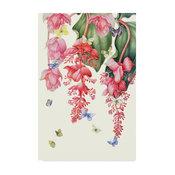 """Janneke Brinkman-Salentijn 'Medinilla' Canvas Art, 19""""x12"""""""