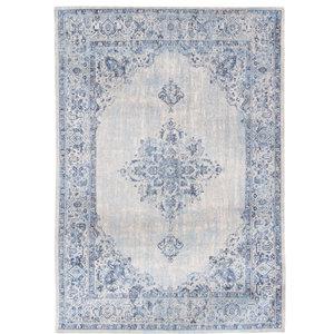 Khayma Fairfield 8670 Rug, Blue Border, 200x280 cm