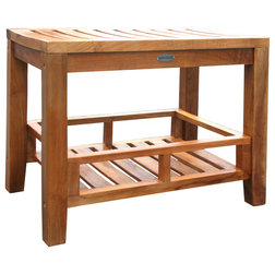 Transitional Shower Benches & Seats by Chic Teak