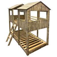 T/T Tower Bunkbed Rustic Dirty White