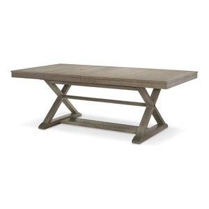 Rachael Ray Home Highline Trestle Table, Greige 6000-621K