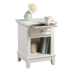 Home Styles Furniture   Arts And Crafts Nightstand, White   Nightstands And  Bedside Tables