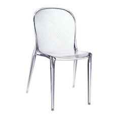 Clear Plastic Chair Houzz