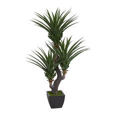 6'Dracaena Artificial Plant, Green