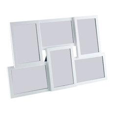 Isernia 6 Multi Photo Frame, White, 445x20x285 mm