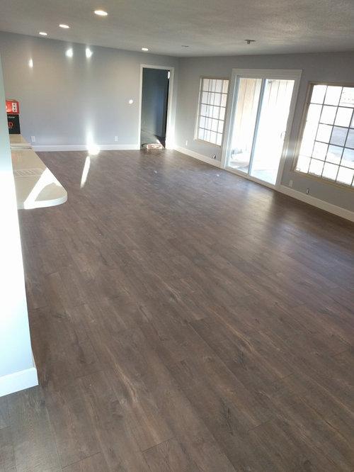 Our New Quick Step Reclaime Laminate Flooring (Mocha Oak Planks)