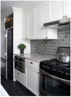 what backsplash looks best with dallas white granite countertop?