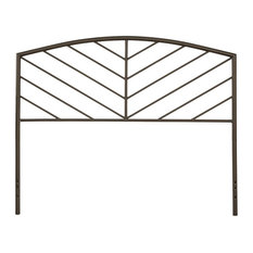Hillsdale Furniture Essex Twin Metallic Brown Metal Headboard