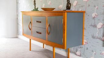 Retro style cabinet