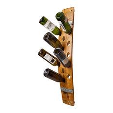 Wine Barrel Wall 16-Bottle Wine Rack