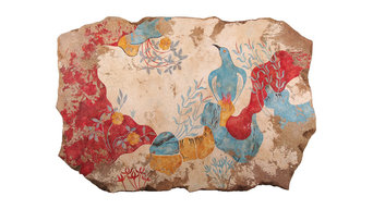 Greek Frescoes (Knossos Collection)