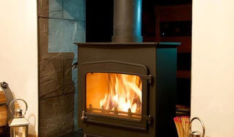 Double sided Woodwarm stove installation