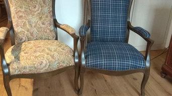 Relooking fauteuil Voltaire