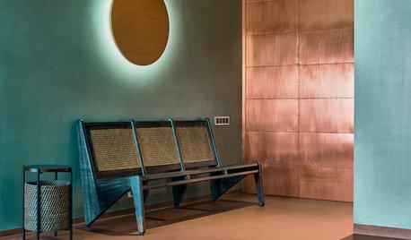 着想はコルビュジェから。洗練された穏やかさのあるインドの部屋