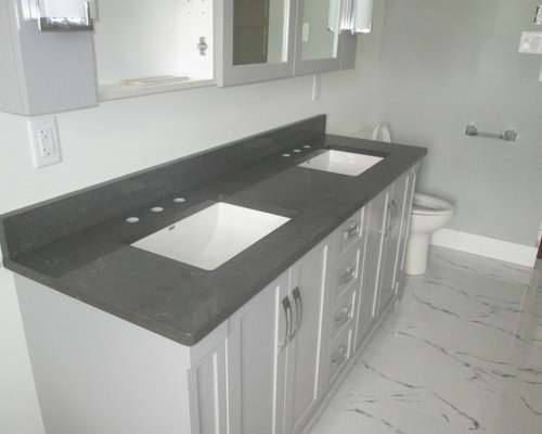 Coastal Gray Quartz Countertops