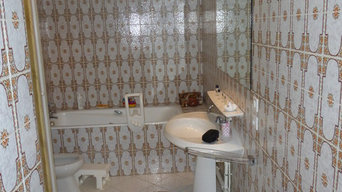 Salle de bain couleur