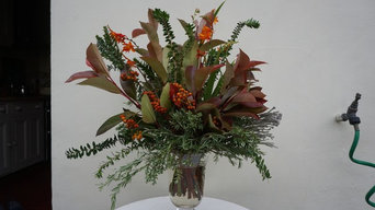Foraged Floristry: Pruning the garden and bringing it indoors
