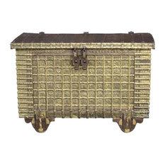 Impresive Kota Brass & Iron Large Trunk