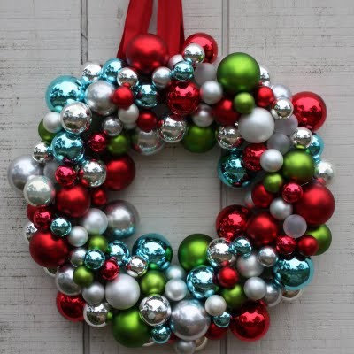 Contemporary  Ornament Wreath