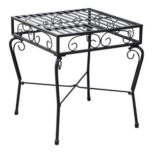 Pemberly Row Outdoor Patio Side Table