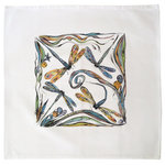 Clay Born Textiles - Napkin with Dragon Fly Design - Know When to Hold 'em, Know When to Fold 'em…