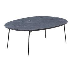 Mobital USA Inc.   Tuk Tuk Coffee Table, Black Spanish Nero, Large