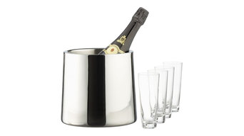 Stainless Steel Champagne Gift Set