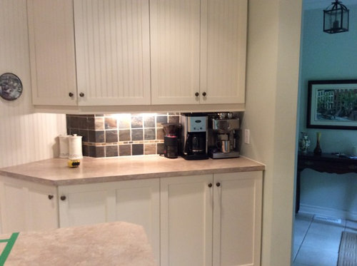 Painting Over Lacquered Kitchen Cabinet