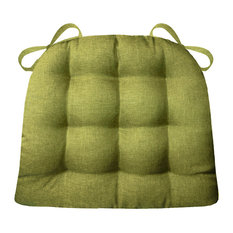 Hayden Meadow Green Chair Pad With Latex Foam Fill, Extra-Large