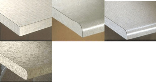 Re Laminating Counters With A Rounded Edge