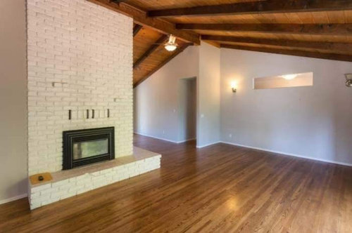 What Color To Paint Brick Fireplace That Is White