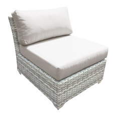 Fairmont Beige Outdoor Armless Sofa