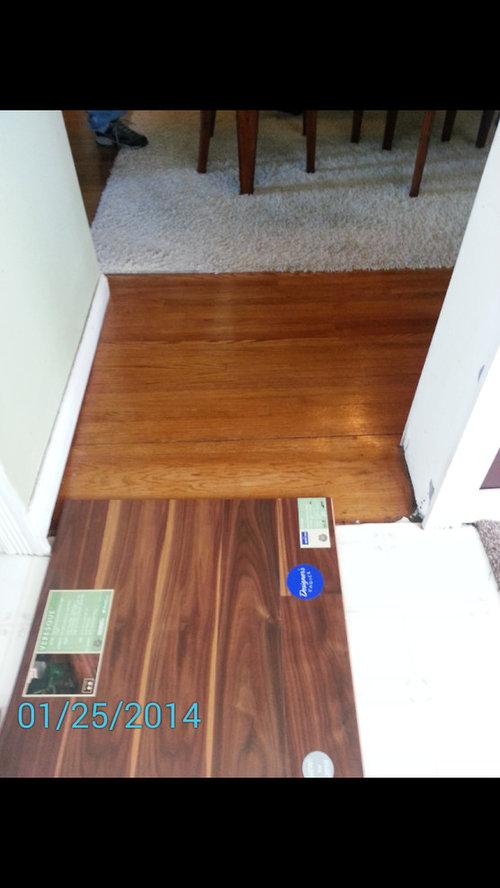 Help Choosing Kitchen Floor That Blends With Honey Oak In