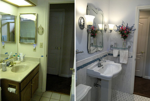 Bathroom Lights Went Out 5 ways with an 8-by-5-foot bathroom