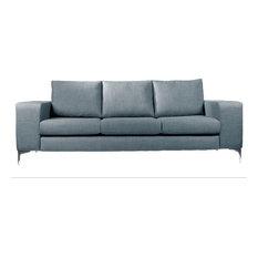 Stockholm Linen Sofa, Duck Egg