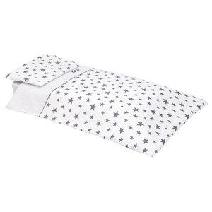 Hugo 2-Piece Cot Bedding Set, 100x140 cm, Grey