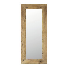 - Miroir en orme recyclé H 160 cm KEY WEST - Miroir à Poser au Sol