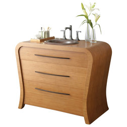 Lovely Contemporary Bathroom Vanities And Sink Consoles Inch Single Sink Bath Vanity Bamboo