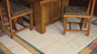 Walter Burley Griffin Prairie Home - Custom Rugs