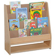Steffywood Home Pre Kids Wooden Learning Book Storage Display Rack