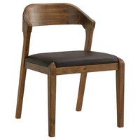 Rasmus Side Chair, Chestnut Wire-Brush