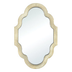 Poitiers Wall Mirror in Champagne Gold